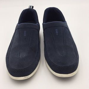 Land's End Women's Blue Slip On Shoes Size 10B